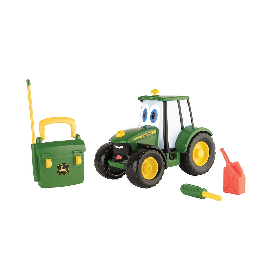John Deere Remote Control Fix-It Up Johnny Tractor
