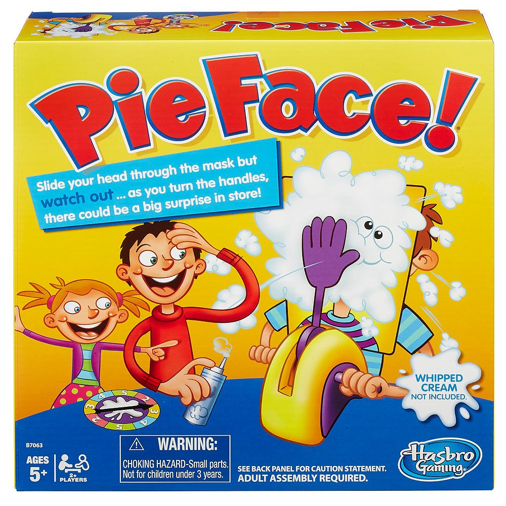 Game on closeouts sporting goods - Pie Face Game By Hasbro