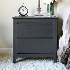 Baxton Studio Contemporary Nightstand