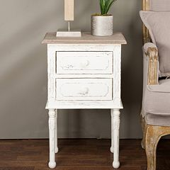Baxton Studio Anjou French Nightstand