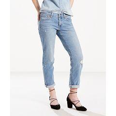 Women's Levi's Cuffed Boyfriend Jeans