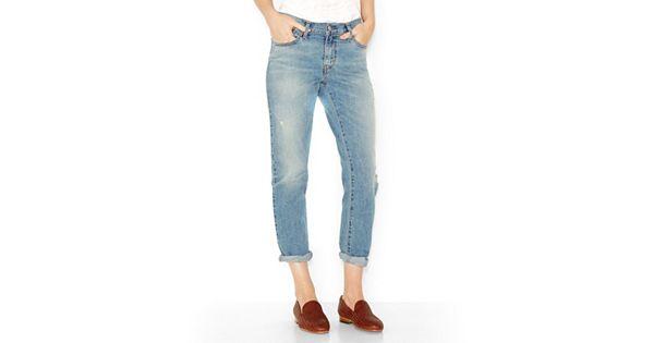 Women S Levi S Boyfriend Jeans