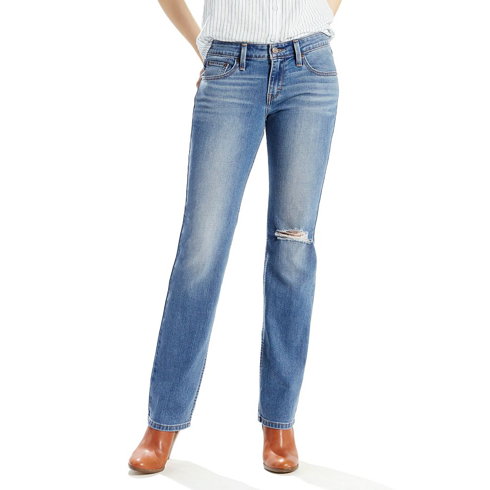 6b09eb3e962 Women's Levi's 518 Straight-Leg Jeans