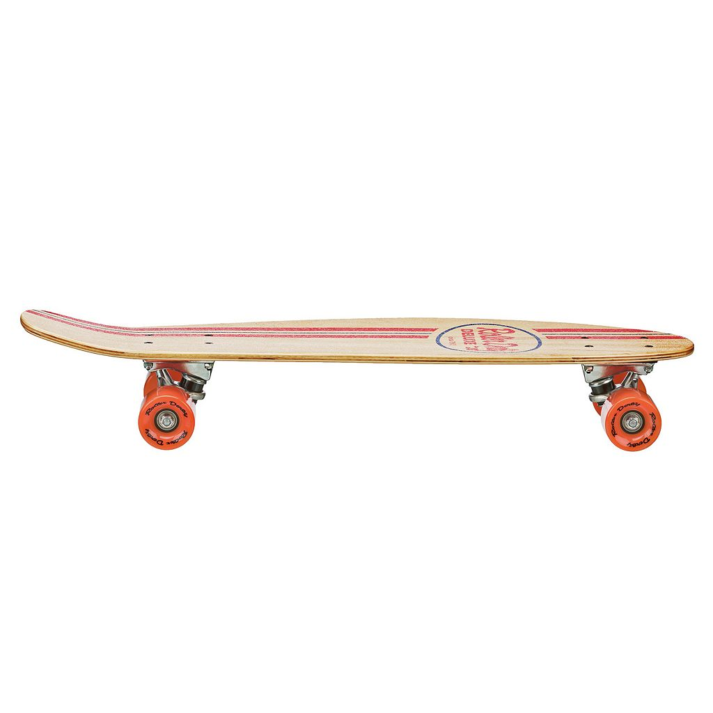 Roller Derby RD Retro Natural Finish Skateboard