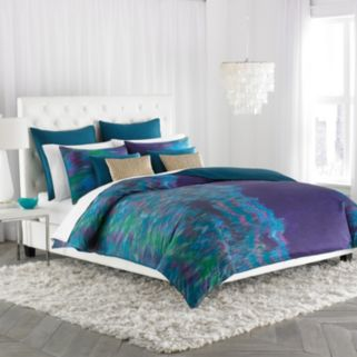 Amy Sia Midnight Storm Duvet Cover