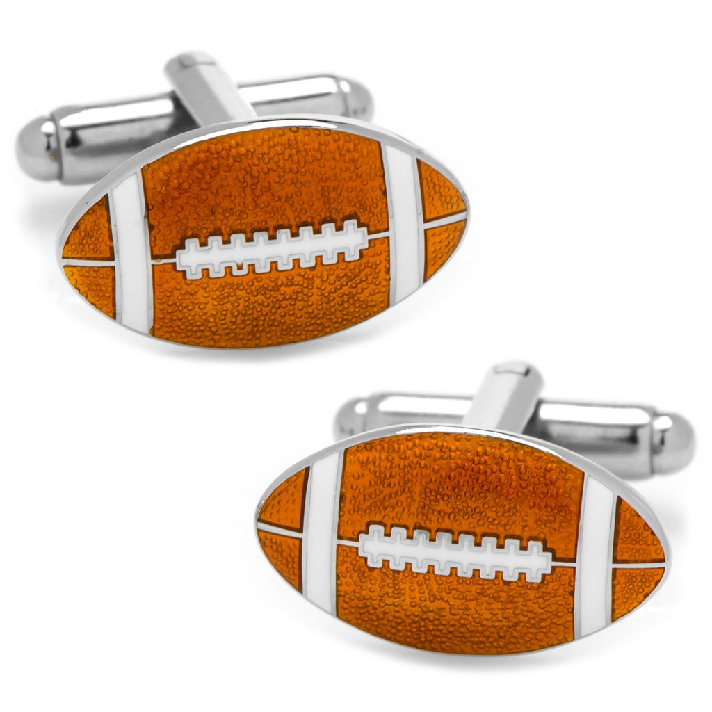 Football Cuff Links