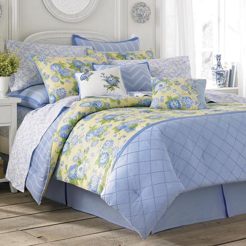 Laura Ashley Salisbury 4 Pc. Comforter