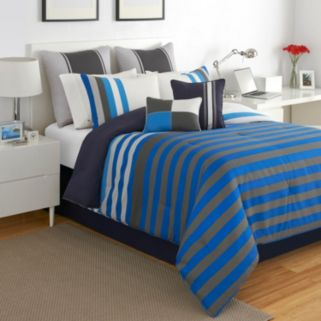 IZOD Regatta Reversible Comforter Set