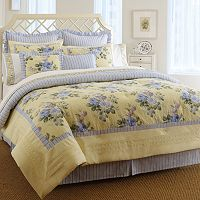 Laura Ashley Lifestyles Caroline 3 pc Comforter Set