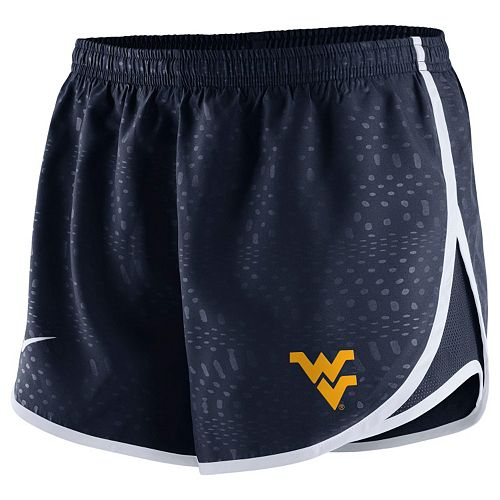 7b4322bebccf Women s Nike West Virginia Mountaineers Modern Tempo Dri-FIT Shorts