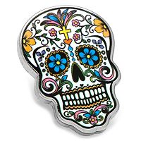 Day of the Dead Skull Pin