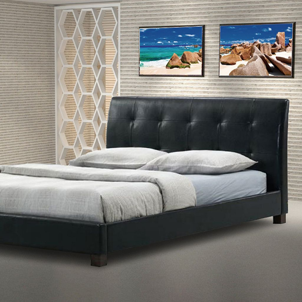 Baxton Studio Hauten Upholstered Bed