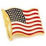 American Flag Lapel Pin