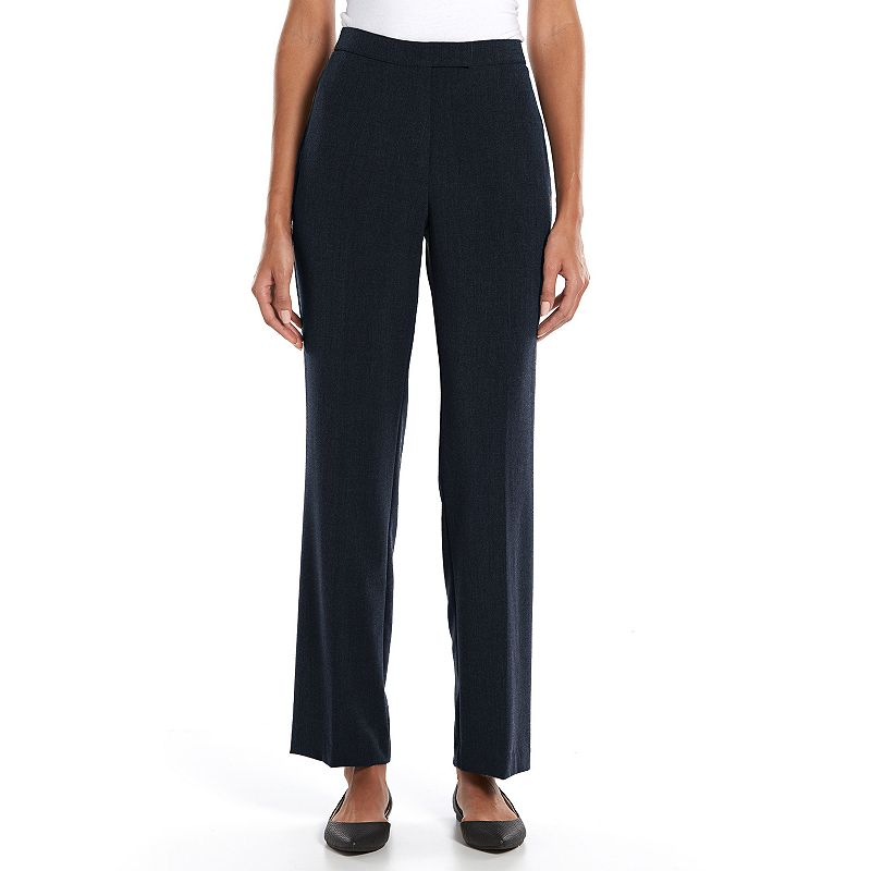 Petite Sag Harbor Slimming Straight-Leg Dress Pants