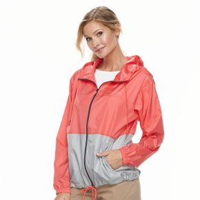 Women's Columbia Hooded Rain Jacket