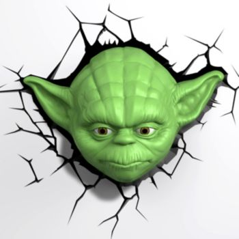 Star Wars Yoda 3D Night Light by 3D Deco Light