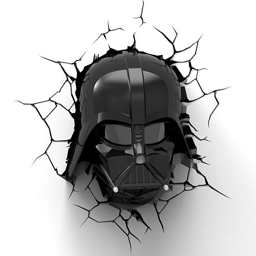 Star Wars Darth Vader 3D Night Light by 3D Deco Light