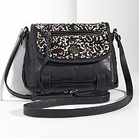 Simply Vera Vera Wang Geneva Leather Crossbody
