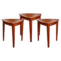 Leick Furniture Shield End Table 3 pc Set