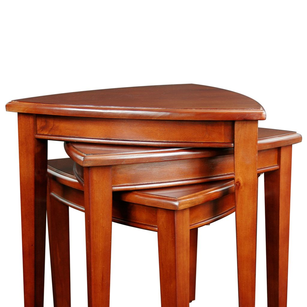 Leick Furniture Shield End Table 3-piece Set