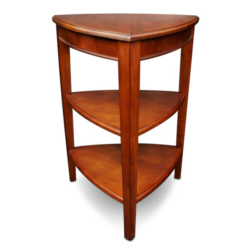 Leick Furniture Shield Tier End Table, Other Clrs