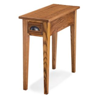 Leick Furniture Candleglow Finish 1-Drawer Narrow End Table
