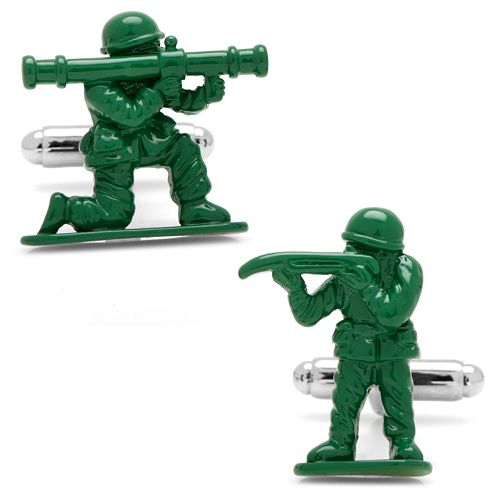 Army Men Cuff Links