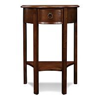 Leick Furniture Demilune Entryway End Table