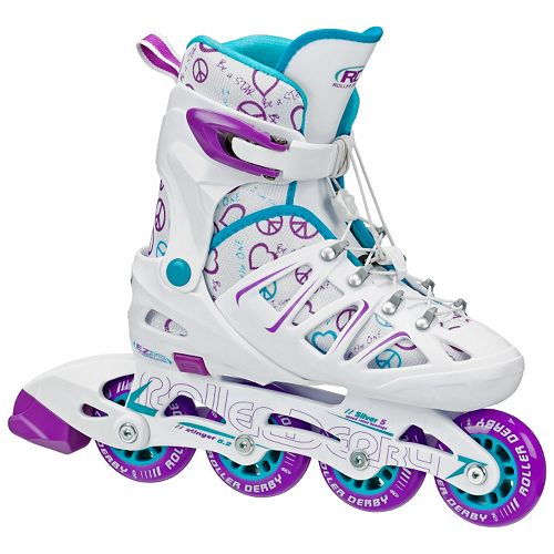 Roller Derby Stinger 5.2 Adjustable Inline Skate - Girls