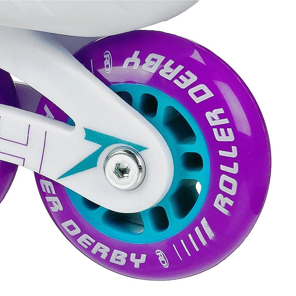 Roller Derby Stinger 5.2 Adjustable Inline Skate - Girls
