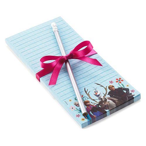 disney s frozen list pad pencil set by hallmark