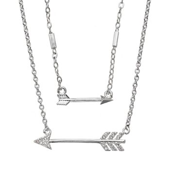 silver necklace your arrow sterling follow htm in