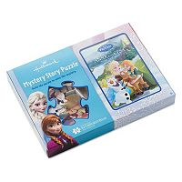 Disney's Frozen Mystery Story Puzzle by Hallmark