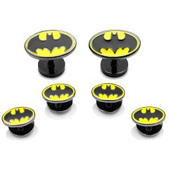 DC Comics 'Batman Stud & Cuff Links Set