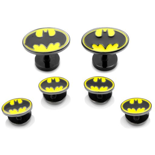 DC Comics 'Batman Stud & Cuff Links Set