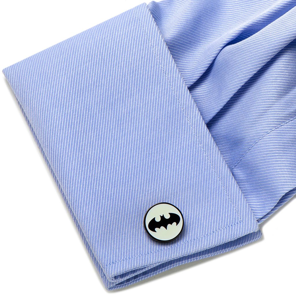 DC Comics Batman Glow-in-the-Dark Cuff Links