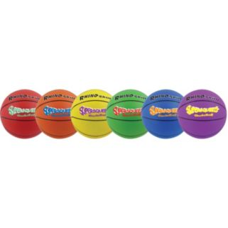 Champion Sports 6-pk. Rhino Skin Super Squeeze Basketball Set