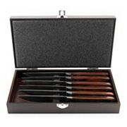 BergHOFF 7 pc Pakka Wood Steak Knife Set