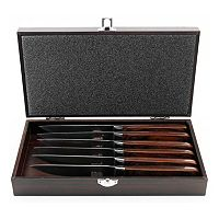 BergHOFF 7-pc. Pakka Wood Steak Knife Set