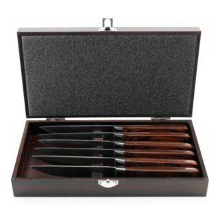 BergHOFF 7-pc. Pakka Wood Steak Knife Set