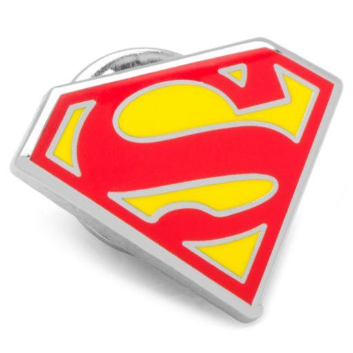 DC Comics Superman Shield Lapel Pin