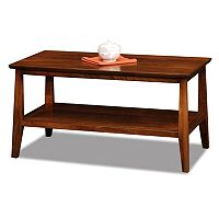 Leick Furniture Sienna Finish Coffee Table