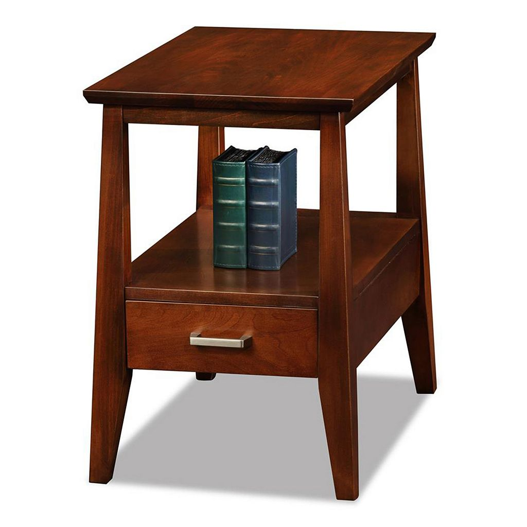 Leick Furniture Sienna Finish 1-Drawer Narrow End Table