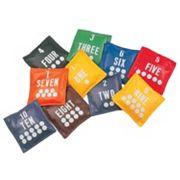 Champion Sports 10 pc Numbered Bean Bag Set