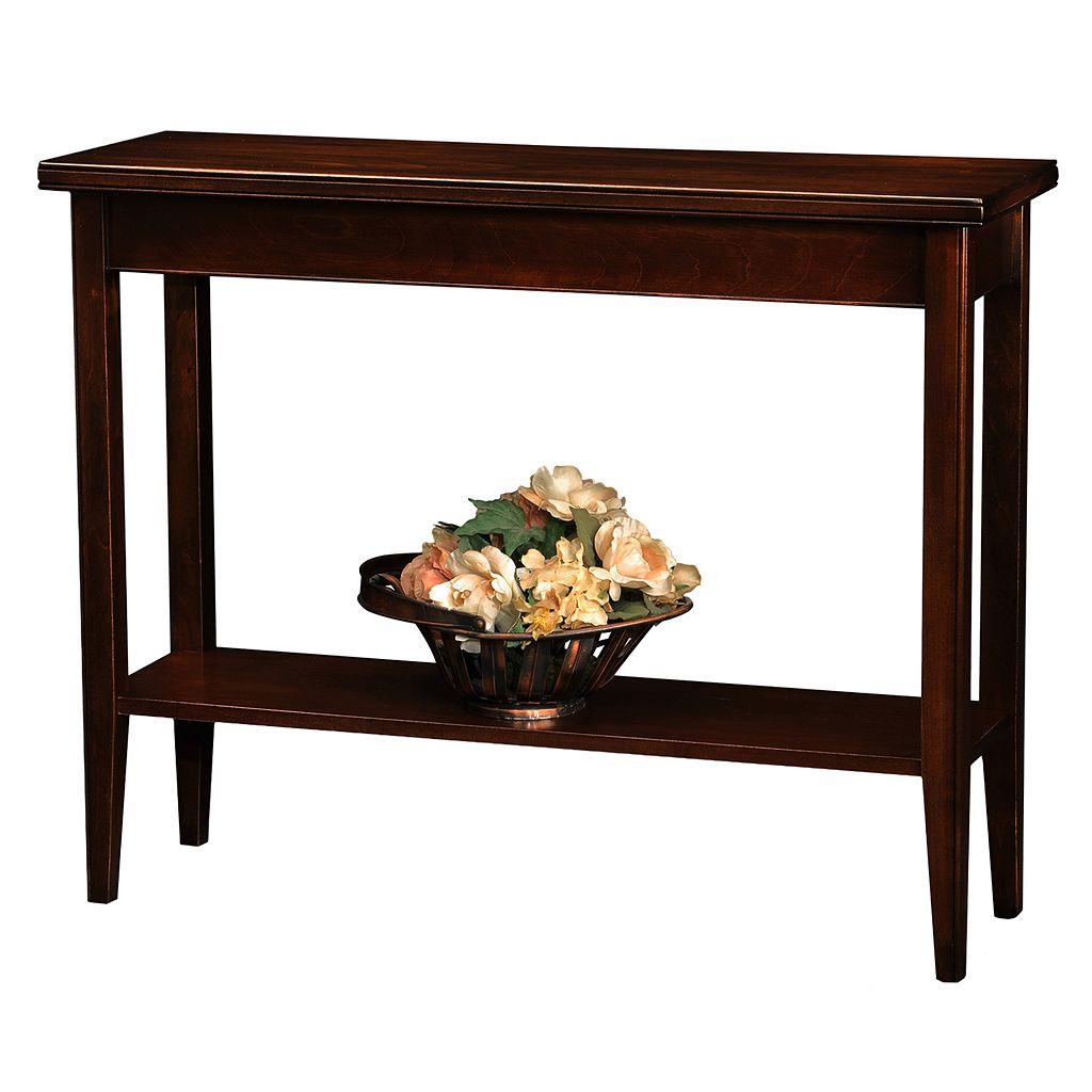 Leick Furniture Chocolate Cherry Finish Sofa Table
