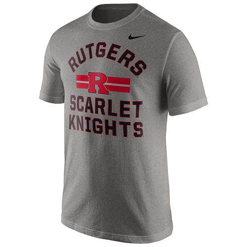 Men's Nike Rutgers Scarlet Knights Stadium First Stripe Tee
