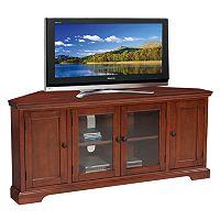 Leick Furniture Westwood Oak Finish Corner TV Stand
