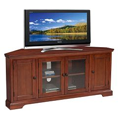 Leick Furniture Westwood Oak Finish Corner TV Stand