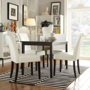 HomeVance 5-piece Larson Dining Set