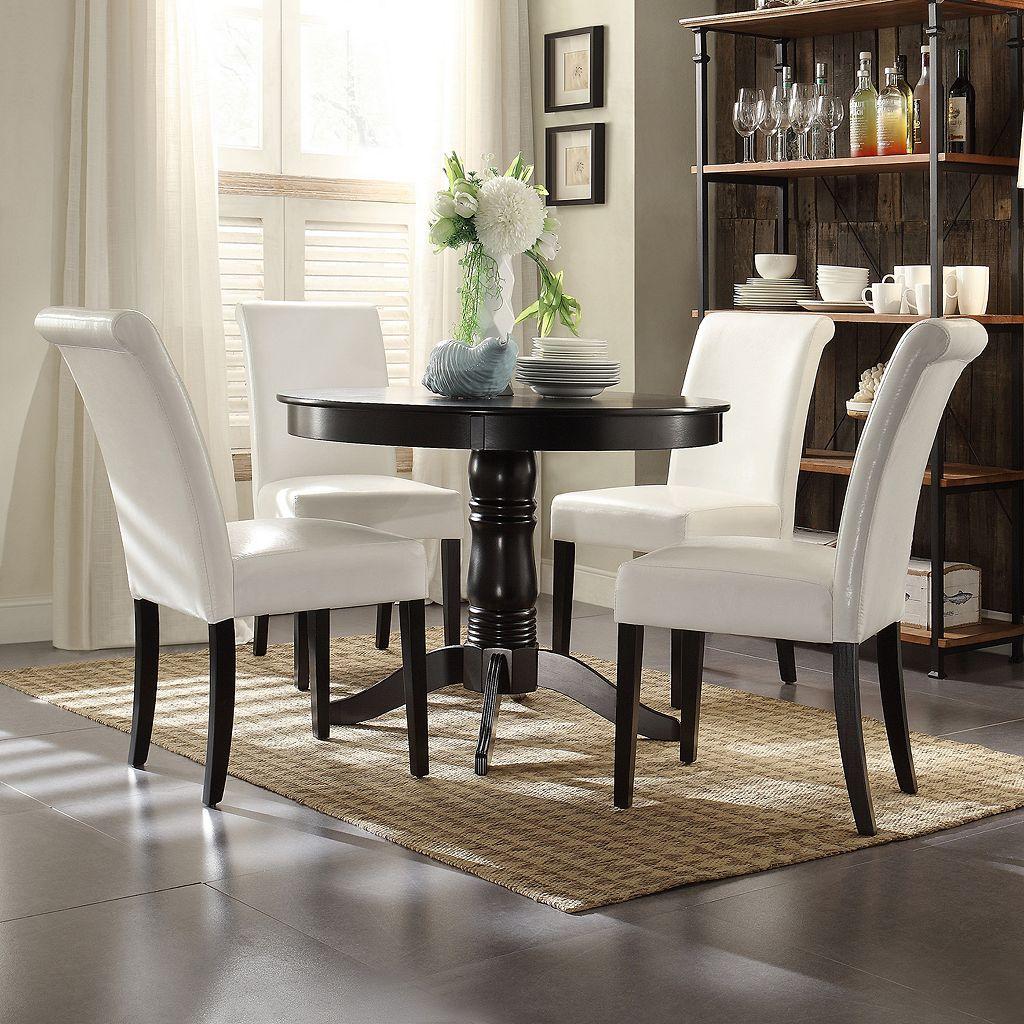 HomeVance 5-piece Amador Dining Set
